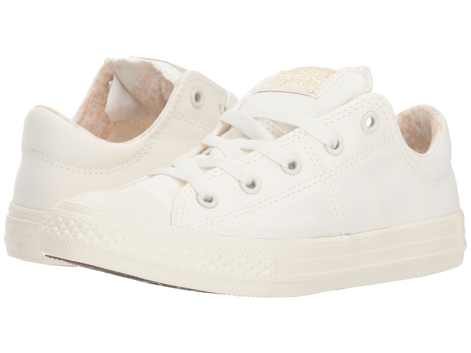Converse Kids Chuck Taylor(r) All Star(r) Madison Ox (Little Kid/Big Kid) (Egret/Light Twine/Egret) Girls Shoes