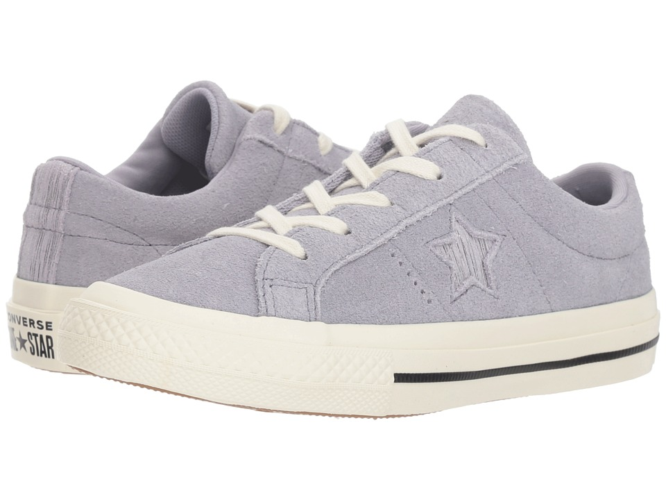 Converse Kids One Star Ox (Little Kid) (Provence Purple/Silver/Egret) Girls Shoes