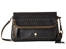 Lodis Accessories Lodis Accessories Rodeo Woven RFID Aphra Zip Flap Crossbody