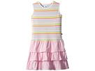 Toobydoo Toobydoo Rainbow Ruffle Tank Dress (Toddler/Little Kids/Big Kids)