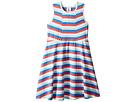 Toobydoo Toobydoo Multi Stripe Skater Dress (Toddler/Little Kids/Big Kids)