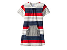 Toobydoo Toobydoo Stars and Stripes Pocket Dress (Infant/Toddler)