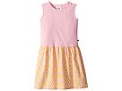Toobydoo Toobydoo Pink Tank Dress w/ Summery Woven Skirt (Toddler/Little Kids/Big Kids)
