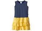 Toobydoo Toobydoo Sweet Summer Navy Yellow Tank Dress (Toddler/Little Kids/Big Kids)