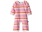 Toobydoo Multi Pink Stripe Bootcut Jumpsuit (Infant)