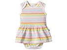 Toobydoo Toobydoo Rainbow Ballerina Romper (Infant)