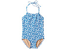Toobydoo Blue Dot One-Piece Swimsuit (Infant/Toddler/Little Kids/Big Kids)