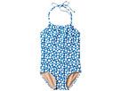 Toobydoo Toobydoo Blue Dot One-Piece Swimsuit (Infant/Toddler/Little Kids/Big Kids)