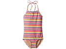 Toobydoo Toobydoo Sunshine Stripe One-Piece Swimsuit (Infant/Toddler/Little Kids/Big Kids)