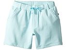 Toobydoo Bright Blue French Terry Camp Shorts (Toddler/Little Kids/Big Kids)
