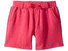 Toobydoo Fun Pink French Terry Camp Shorts (Toddler/Little Kids/Big Kids)