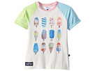 Toobydoo Pink and Blue Popsicle Tee (Toddler/Little Kids/Big Kids)