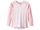 Toobydoo Toobydoo Sweet Pink Stripe Rashguard (Infant/Toddler/Little Kids/Big Kids)
