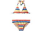 Toobydoo Toobydoo Retro Rainbow Stripe Bikini (Infant/Toddler/Little Kids/Big Kids)