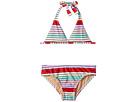 Toobydoo Toobydoo Fun Multi Stripe Bikini (Infant/Toddler/Little Kids/Big Kids)