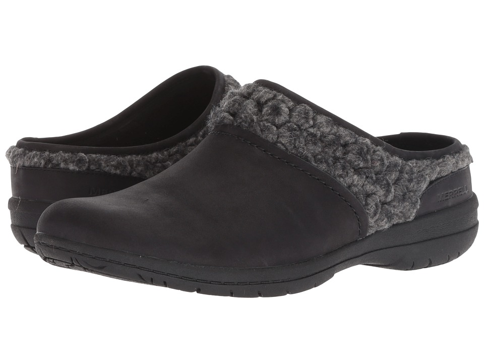 Merrell Encore Kassie Slide Wool (Black) Slip-On Shoes