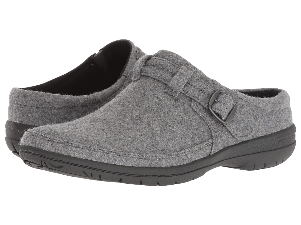 Merrell Encore Kassie Buckle Wool (Light Grey) Slip-On Shoes