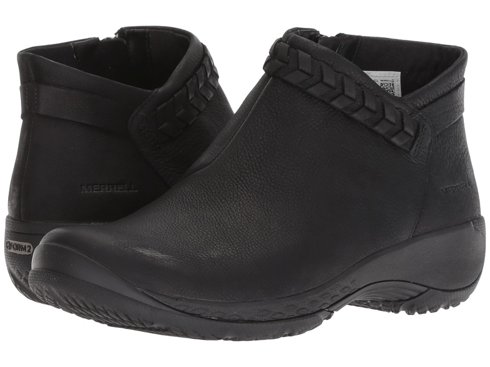 Merrell Encore Braided Bluff Q2 (Black) Women's Shoes