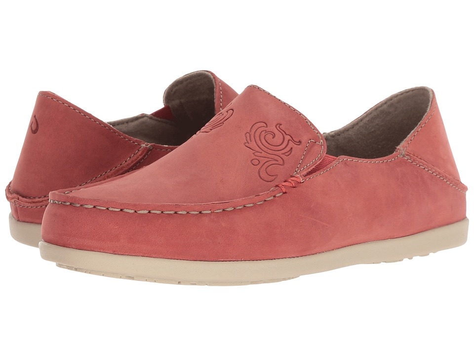 OluKai Nohea Nubuck (Raw Clay) Slip-On Shoes