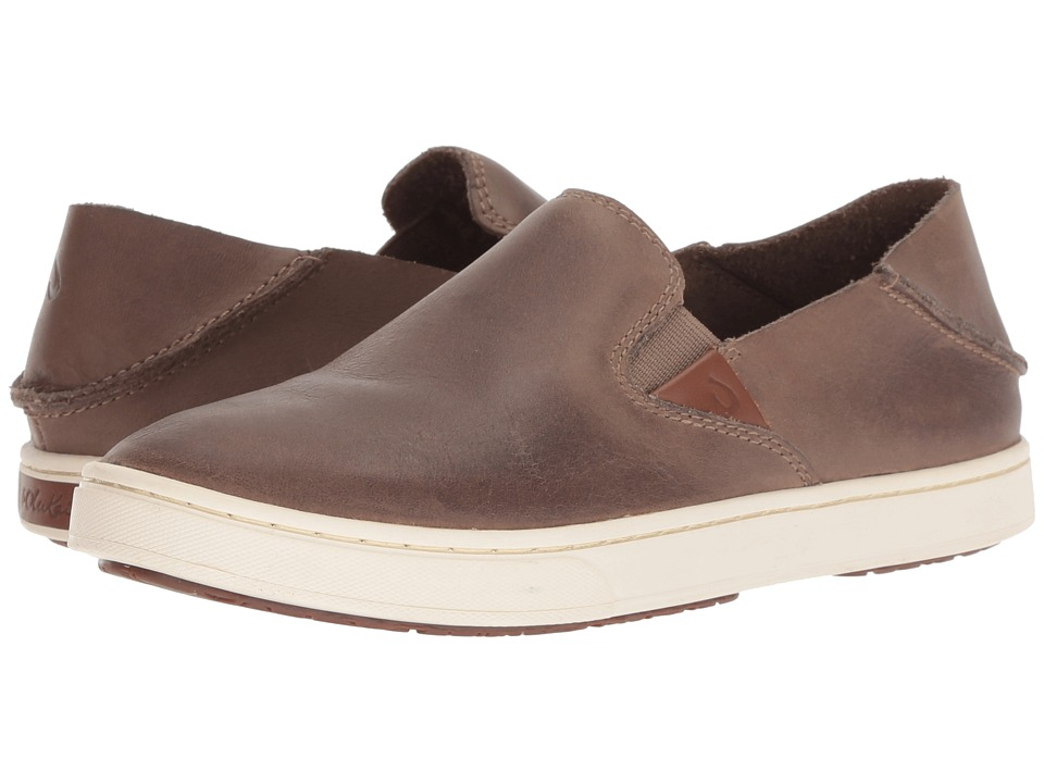 OluKai Pehuea Leather (Espresso) Women's Shoes