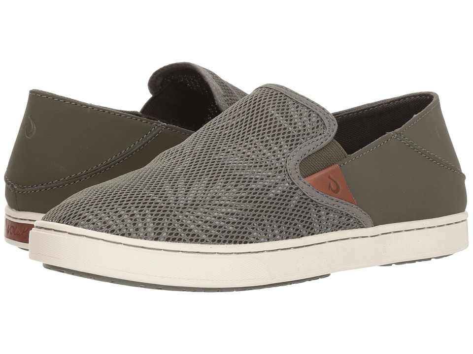 OluKai Pehuea (Dusty Olive/Palm) Slip-On Shoes