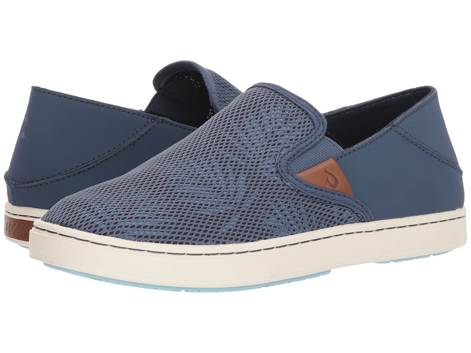 OluKai Pehuea (Vintage Indigo/Palm) Slip-On Shoes