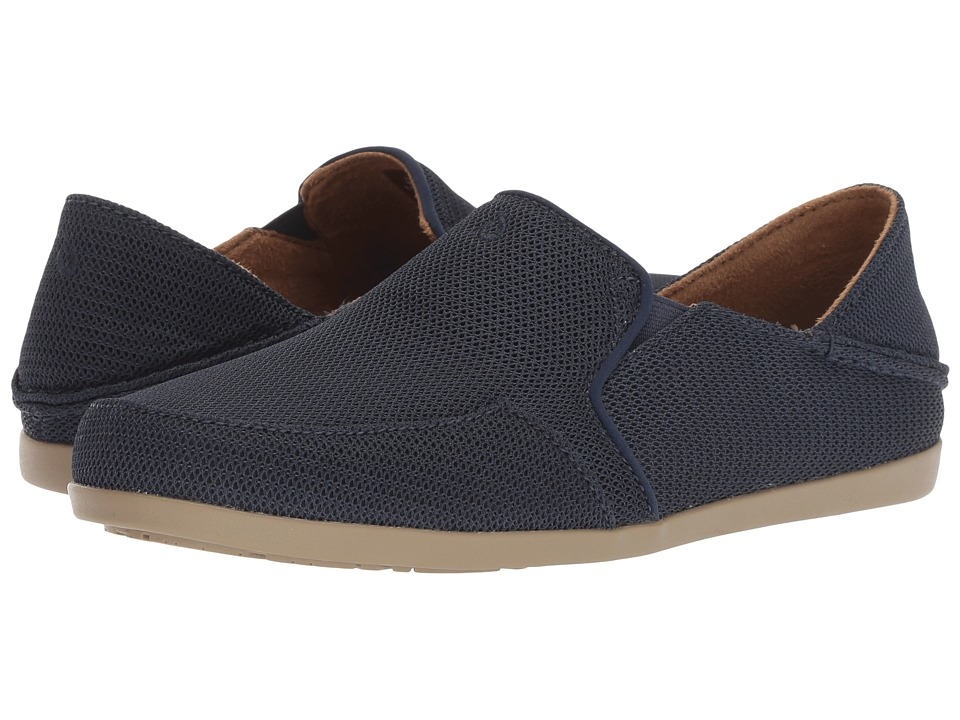 OluKai Waialua Mesh (Trench Blue) Women's Shoes