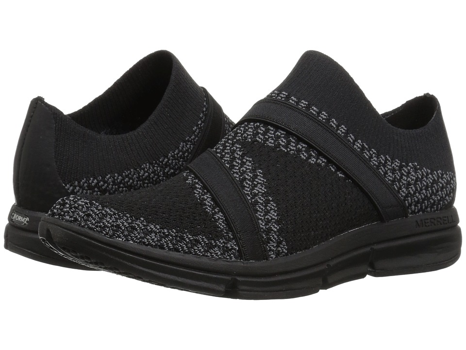 Merrell Zoe Sojourn Knit Q2 (Black/Castlerock) Women's Shoes