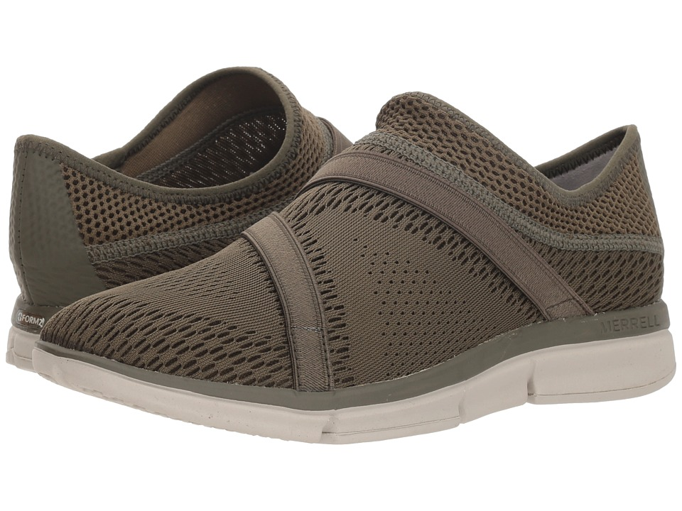 Merrell Zoe Sojourn E-Mesh Q2 (Dusty Olive) Women's Shoes