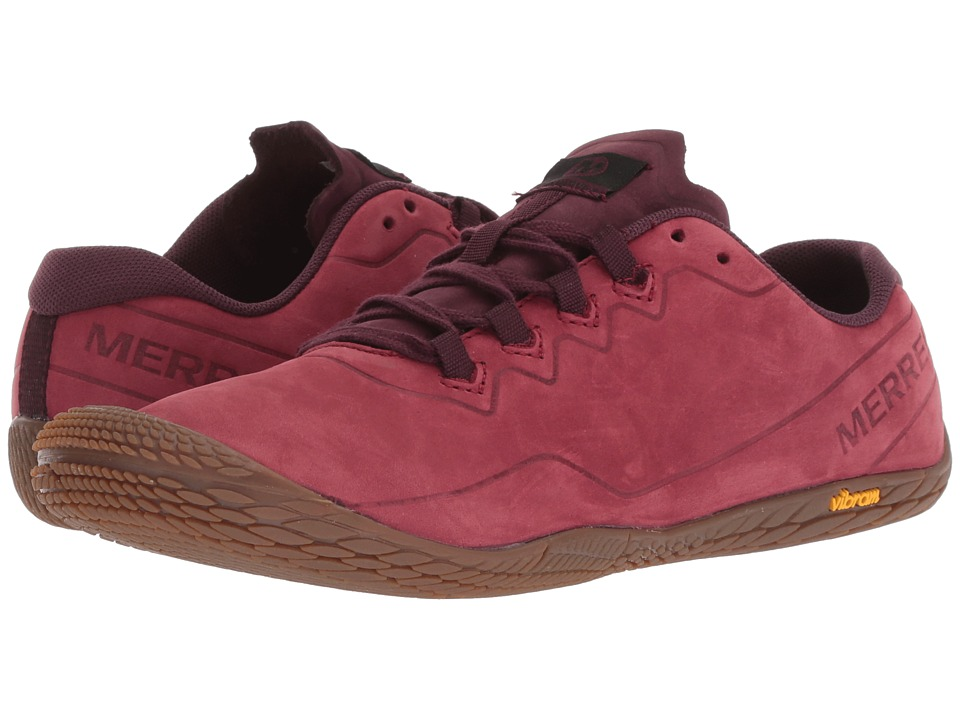 Merrell Vapor Glove 3 Luna Leather (Pomegranate)