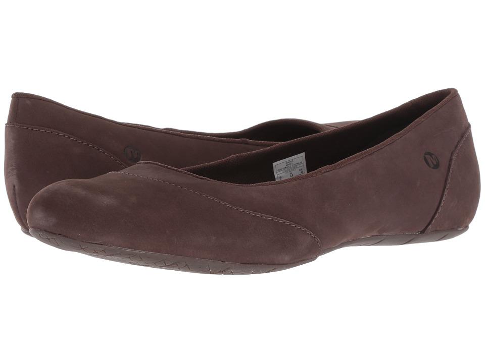 Merrell Inde Ballet Nubuck (Bracken) Flats