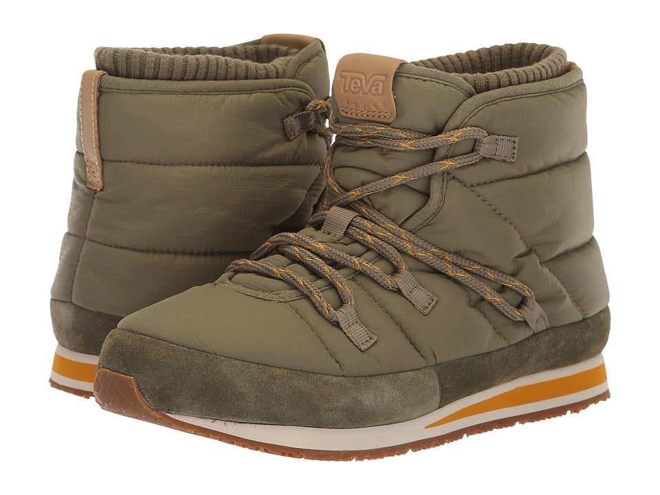 Teva Ember Lace (Burnt Olive) Women's Shoes