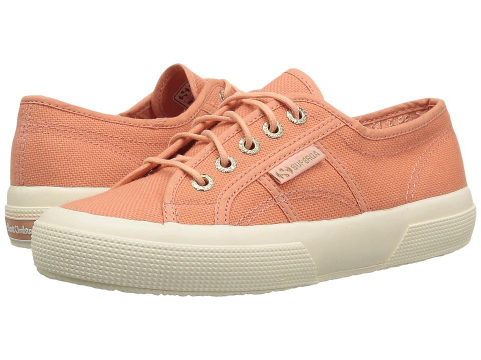 Superga - 2750 COTU Sant Ambroeus Sneaker (Peach) Womens  Shoes