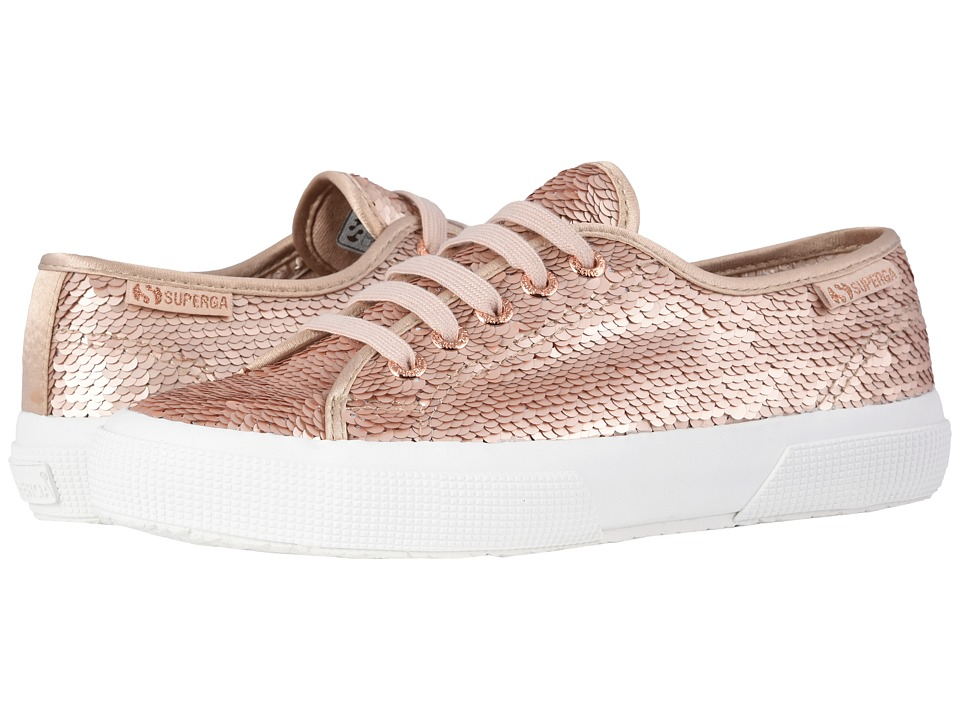 Superga - 2750 Pairidesce Sneaker (Rose Gold) Womens  Shoes