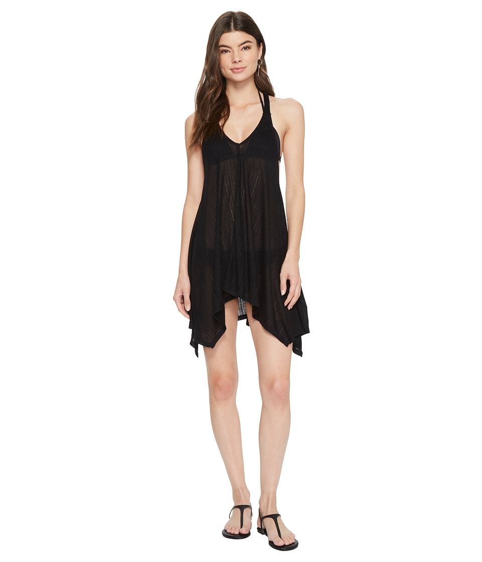 Billabong Twisted View Dress Cover-Up (Black Pebble) Women