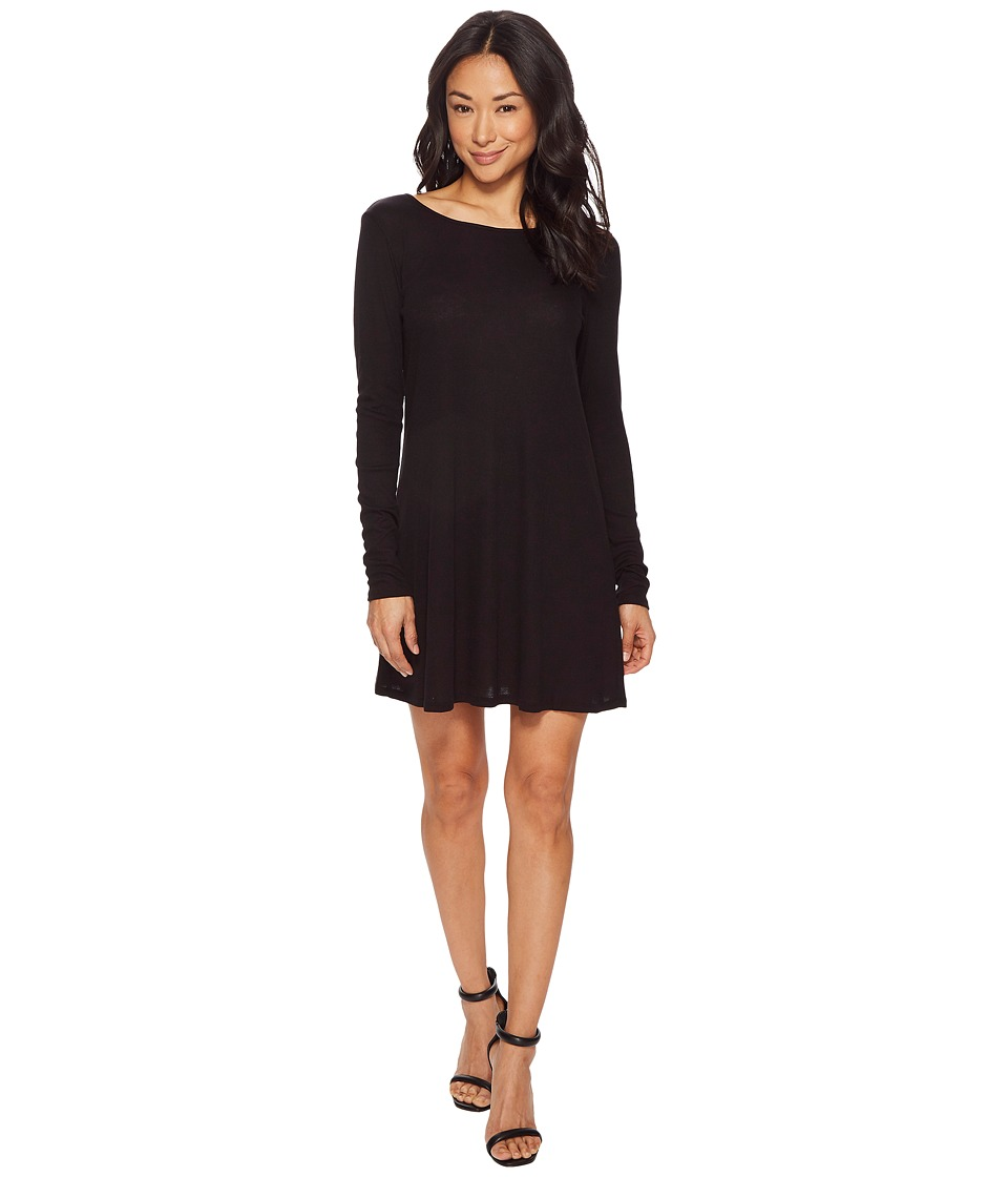 American Rose - Avery Long Sleeve Dress with Lace