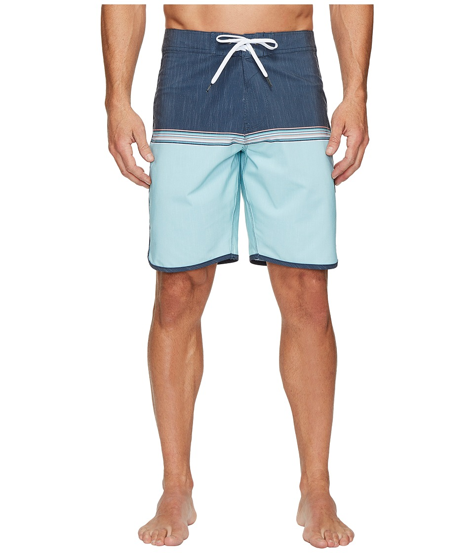 VISSLA Dredges Four-Way Stretch Boardshorts 20 (Dark Navy) Men