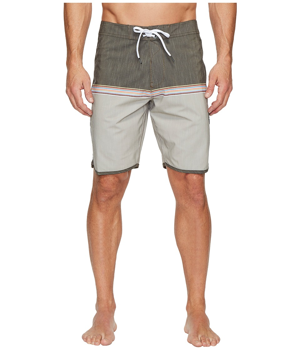 VISSLA Dredges Four-Way Stretch Boardshorts 20 (Java) Men
