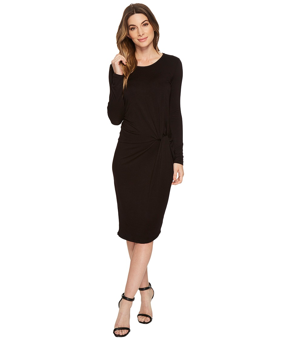 American Rose - Aubrey Long Sleeve Knotted Dress