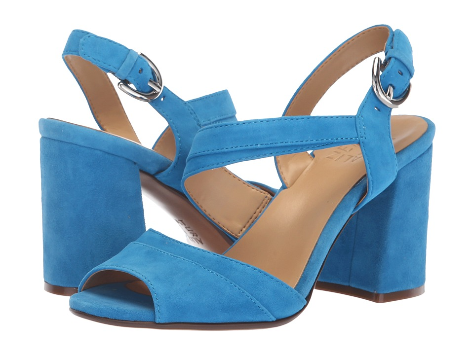 Naturalizer Terah (Bahaus Blue Suede) Sandals