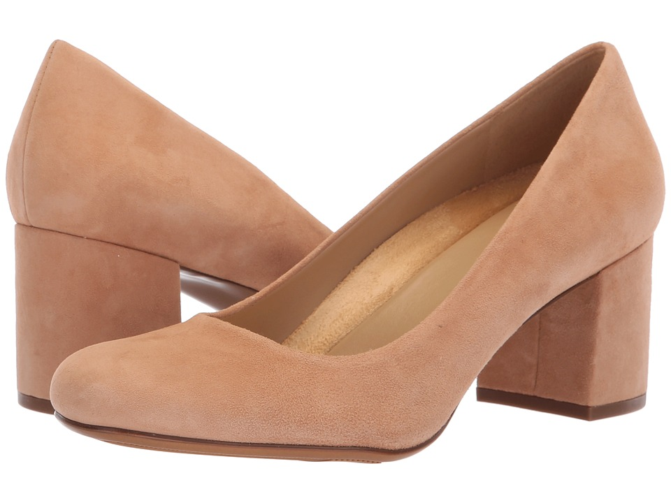 Naturalizer Whitney (Cookie Dough Suede) High Heels