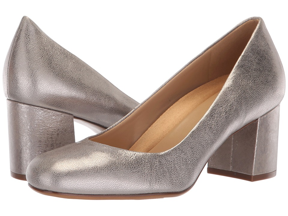 Naturalizer Whitney (Dark Silver Metallic Dust Leather) High Heels