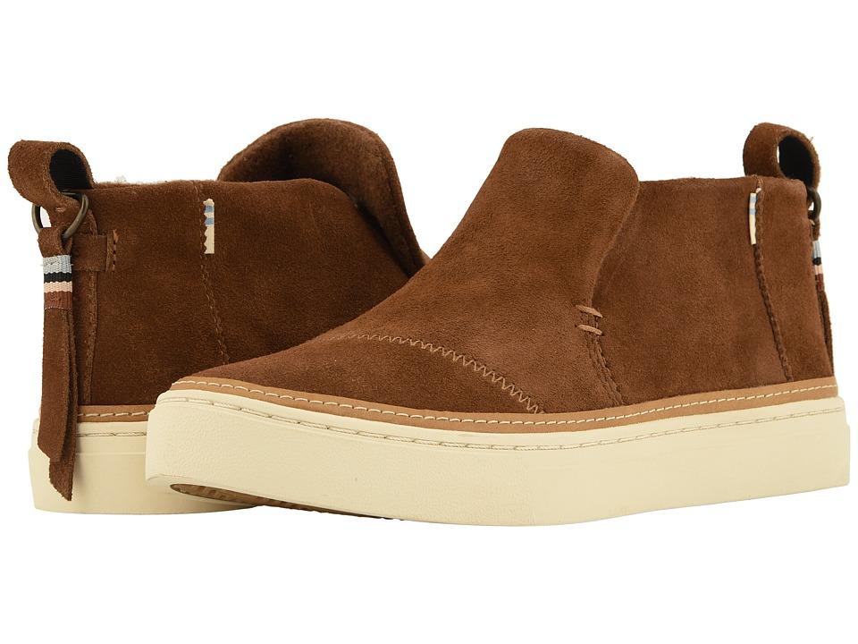 TOMS Paxton (Dark Amber Suede) Slip-On Shoes