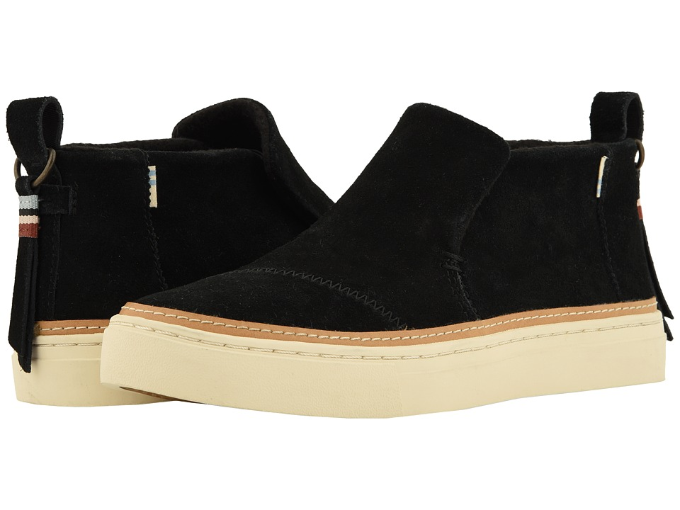 TOMS Paxton (Black Suede) Slip-On Shoes
