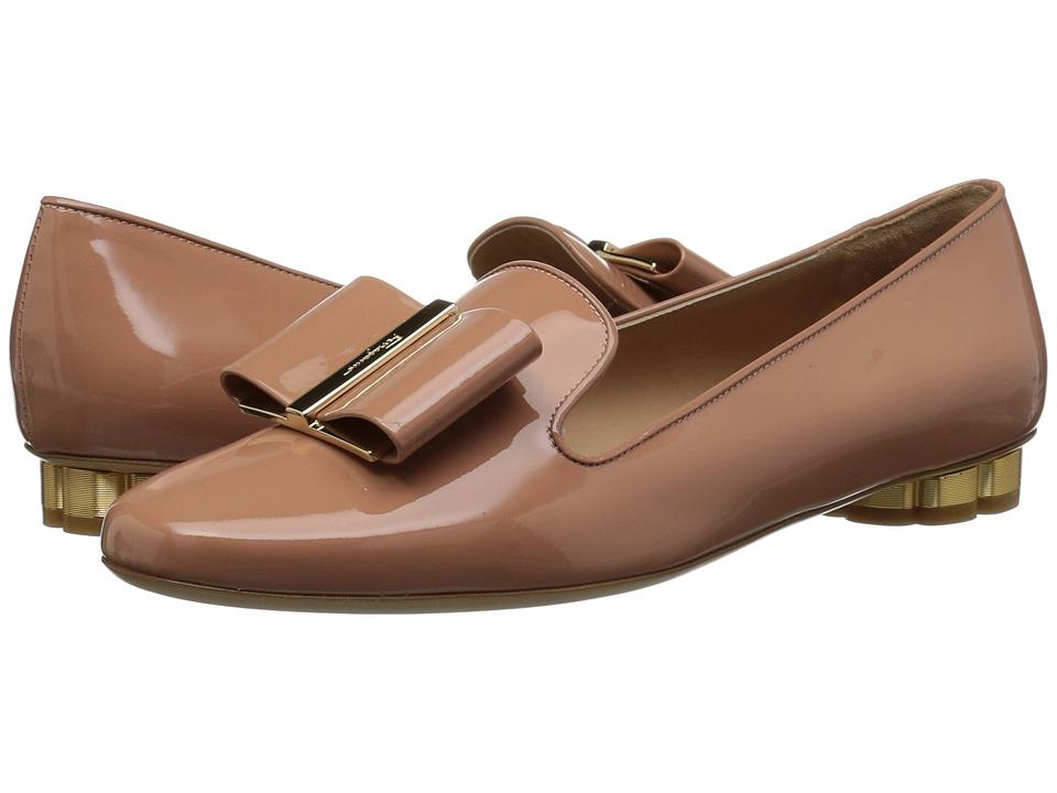 Salvatore Ferragamo Sarno (Patent New Blush) Women's Shoes