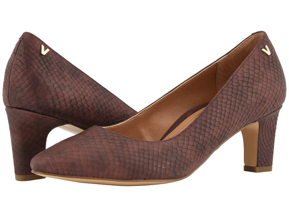 VIONIC Mia (Merlot Snake) Sandals