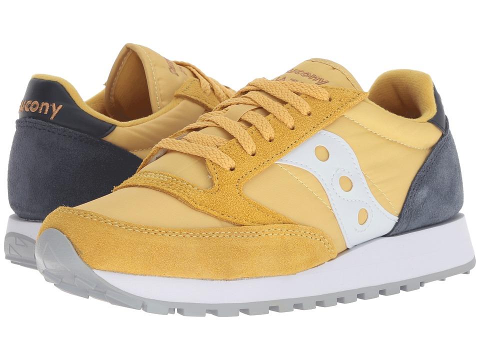 Saucony Originals Jazz Original (Yellow/Navy) Women's Classic Shoes