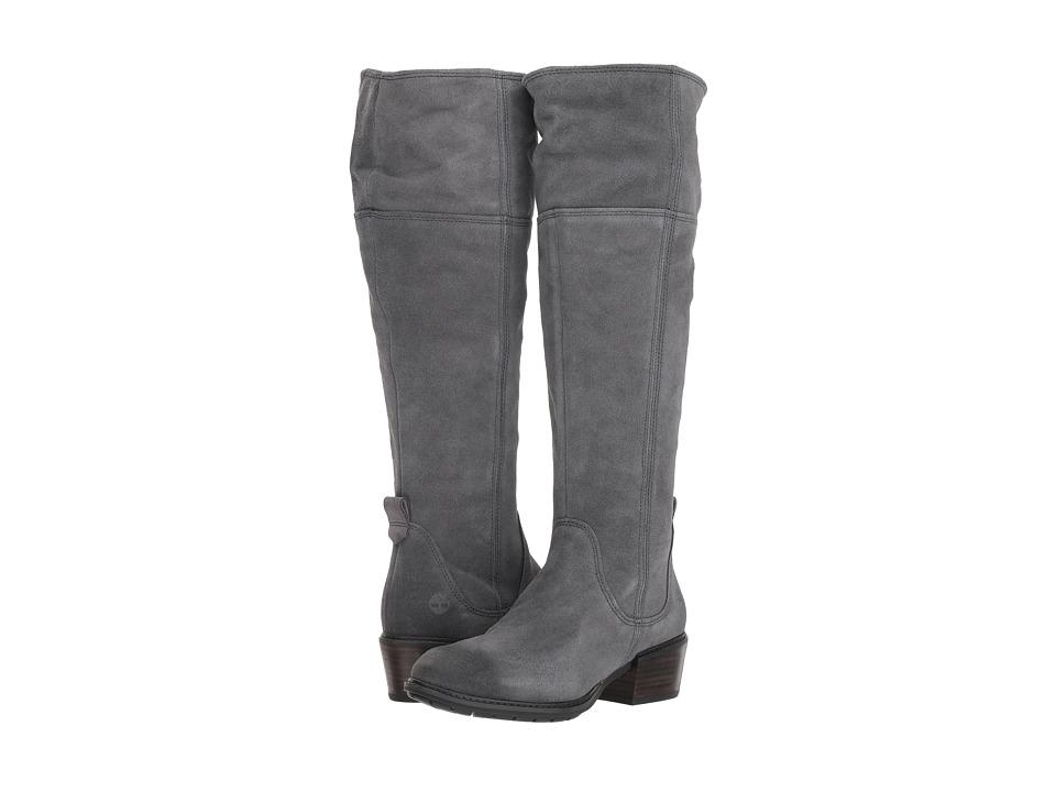 Timberland Sutherlin Bay Tall Boot (Dark Grey Suede)
