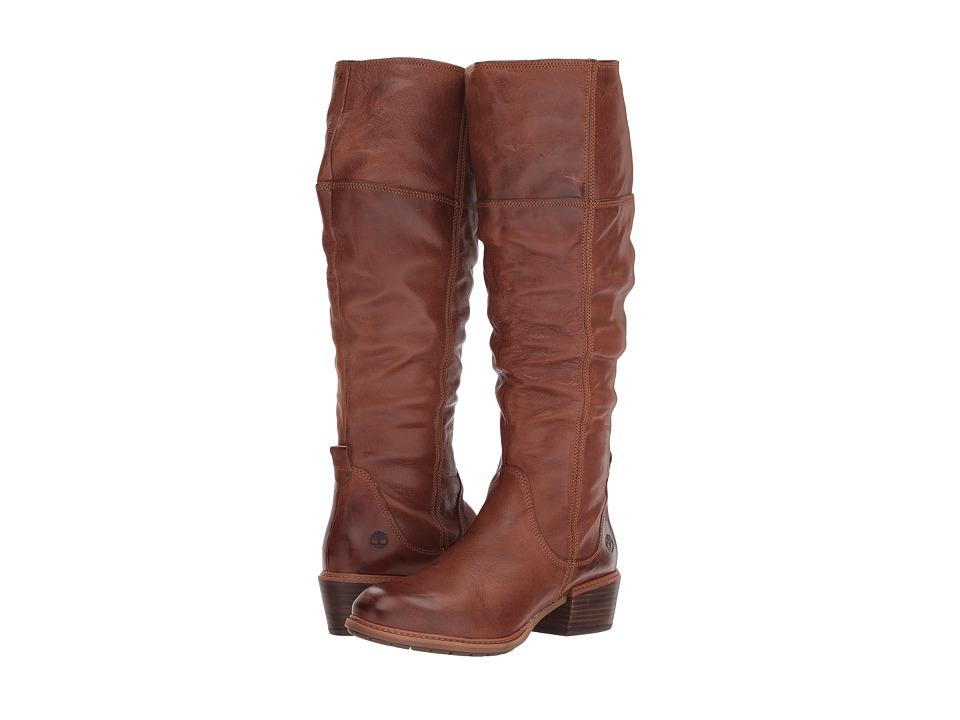 Timberland Sutherlin Bay Tall Boot (Medium Brown Full Grain)