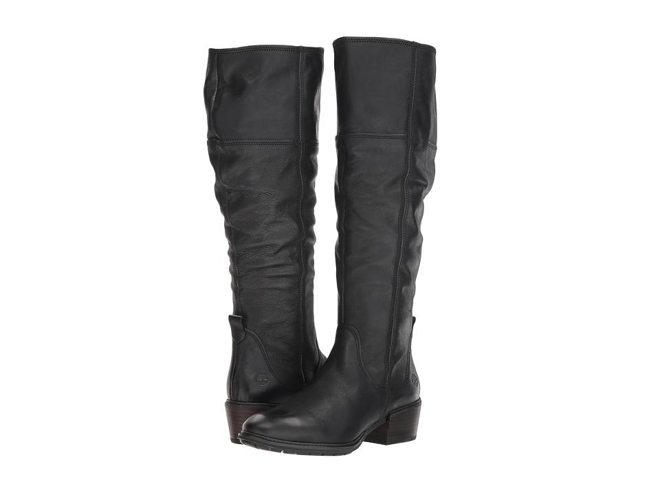 Timberland Sutherlin Bay Tall Boot (Black Full Grain)